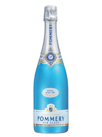 Champagne Pommery Sur Glace Royal Blue Sky