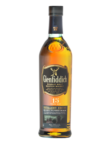Glenfiddich 15 Years Old Box + 2 Glasses