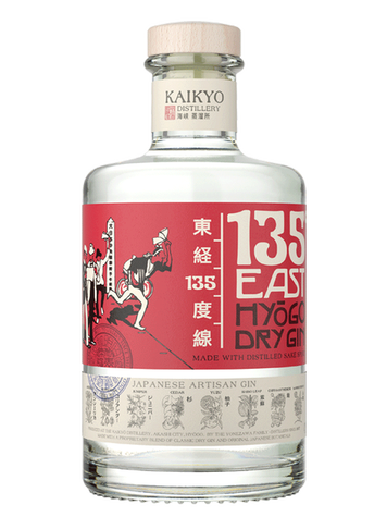 GIN 135° EAST HYOGO DRY 42%VOL