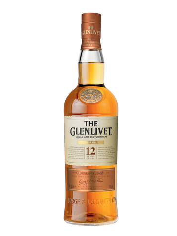 The Glenlivet First Fill 12 Ans Single Malt