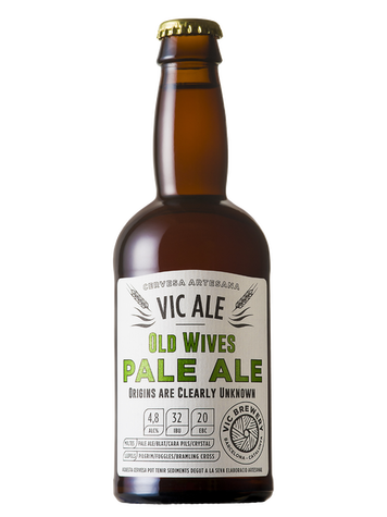 Old Wives Vic Ale Beer 33 Cl