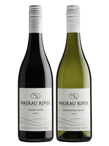 Wairau River Sauvignon Marlborough + Pinot Noir Marlborough