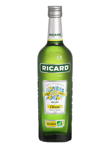 RICARD FRUITÉ BIO CITRON       45%VOL