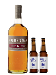 Auchentoschan 12 Years + 2 Beers Little Bichos Blue Crab