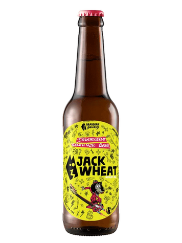 BRASSERIE  3 IENCHS JACK WHEAT 33CL