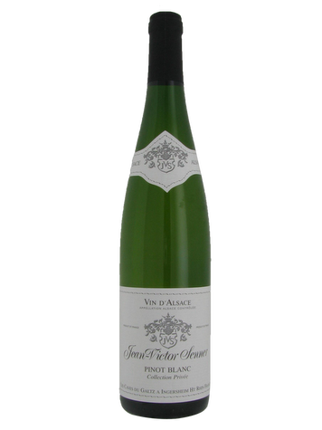 Pinot Blanc Collection Privée, Jean Victor Senner 2014